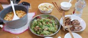 野菜とスープ