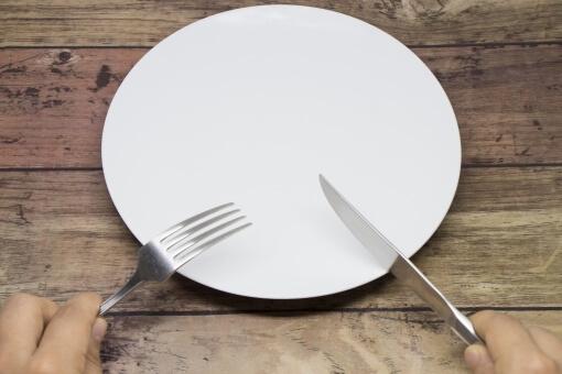 夕食断食(夕食を減らす)