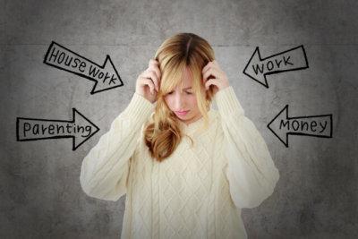 ストレスによる女性ホルモンの乱れ